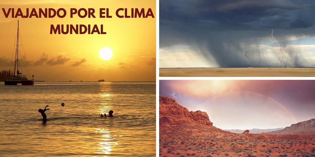 Viajando por el clima mundial