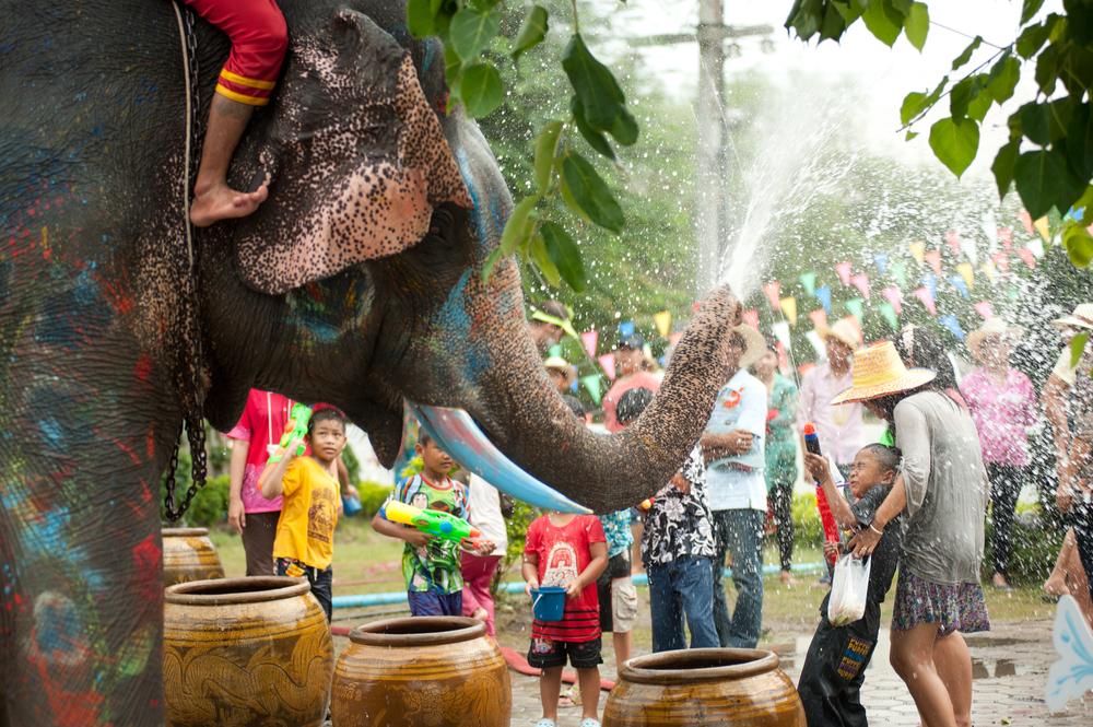 Fiesta del Agua de Songkran