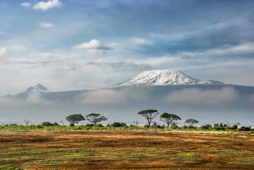 Paisaje en Amboseli